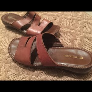 🆕Naturalizer Leather Sandals Size 7.5